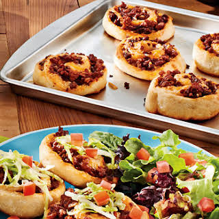 Taco Pizza Rolls.