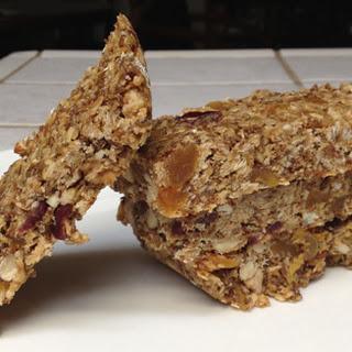 Spent Grain Peanut Honey Energy Bars