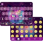 Galaxy Cat Emoji KeyboardTheme Icon