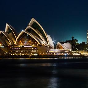 Sydney Sails by Daniel Wheeler - Buildings & Architecture Public & Historical ( sydney, opera house, longexposure, australia, history )