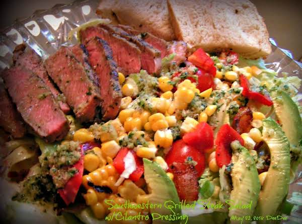 Sw Grilled Steak Salad W/cilantro Dressing