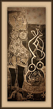 Photo: Antonio Berni Ramona aprendiz (o Ramona pupila) 1963. Xilo-collage-relieve. Matriz xilográfica: 139,1 x 55,6 cm. Estampa: 145,4 x 61,8 cm. The Museum of Fine Arts, Houston, EE.UU. Expo: Antonio Berni. Juanito y Ramona (MALBA 2014-2015)