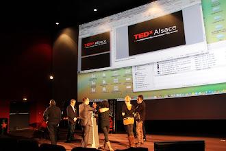 Photo: TedxAlsace - l'échauffement
