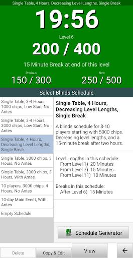 Blinds Are Up! Poker Timer filehippodl screenshot 4