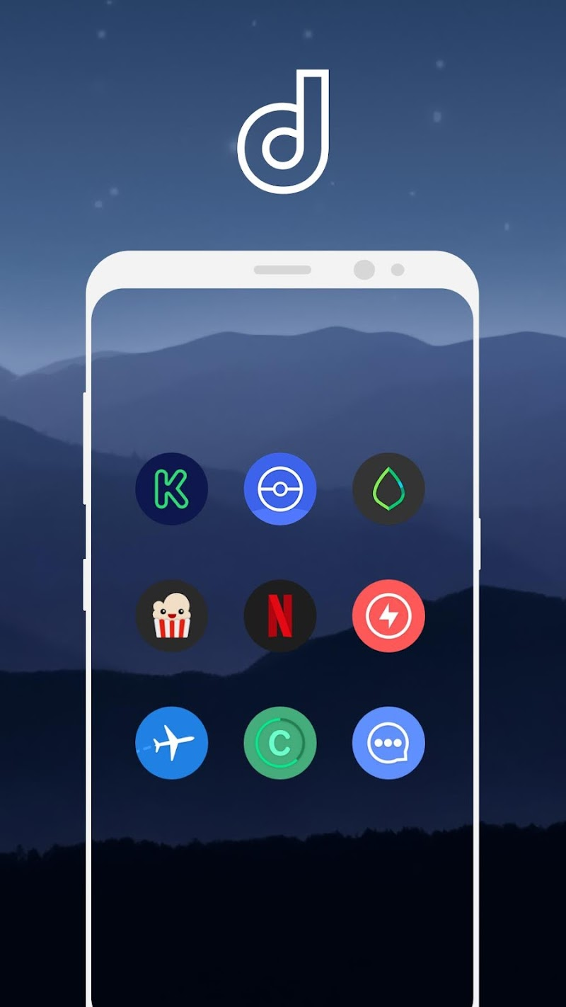 Delux Pixel - S9 Icon pack Screenshot 14