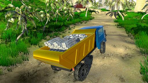 4x4 Off-Road Truck Simulator: Tropical Cargo 3.9 screenshots 16
