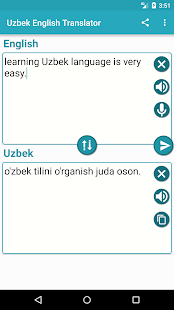 Uzbek English Translator for PC-Windows 7,8,10 and Mac apk screenshot 2