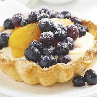 Blueberry Souffles.