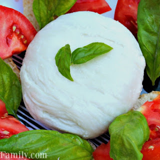 Fresh Mozzarella Cheese Recipe - How to Make Homemade Mozzarella Cheese