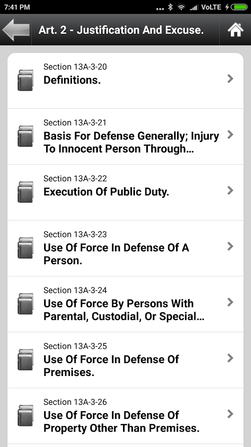 Alabama Code AL State Laws Screenshot