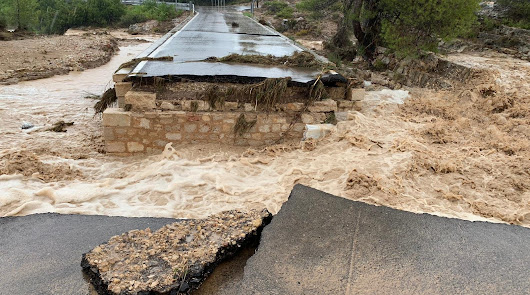 Imagen de la Agencia Estatal de Meteorología de la Comunidad Valenciana.