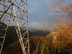L171鉄塔からの展望(奥に御池岳)