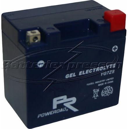 YTZ7S,YG7ZS MC gelbatteri 6Ah