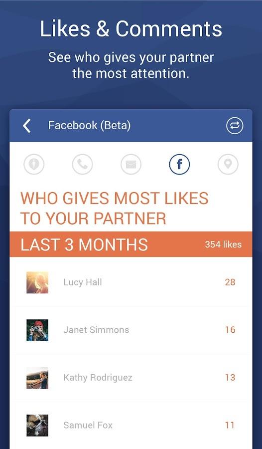 Couple Tracker -Mobile monitor- screenshot