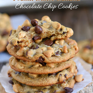 Peanut Butter Banana Chocolate Chip Cookies.