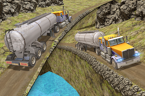 Oil Tanker Impossible Truck Offroad Fuel Transport - náhled