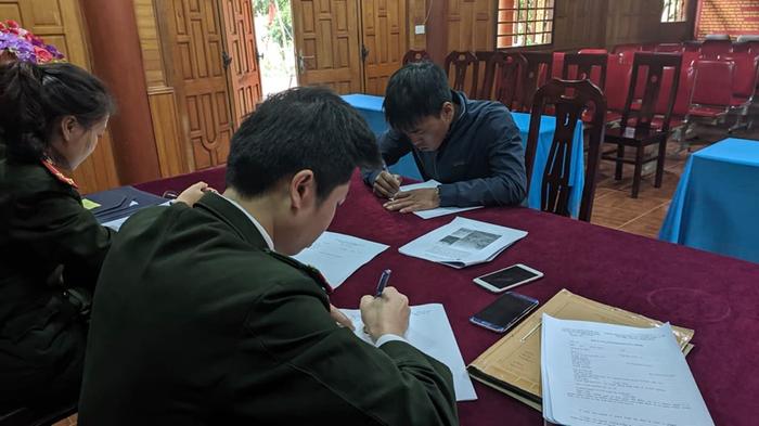 Triệu tập đối tượng tung tin sai sự thật tại huyện Kỳ Sơn lên làm việc
