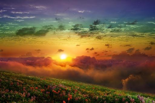 Fantasy Sunset Live Wallpaper