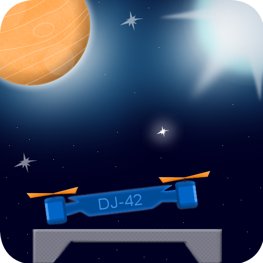 Drone Landing 2D Simulator Game