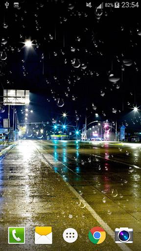 City Rain Live Wallpaper PRO