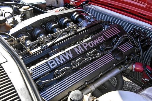 The famous M88 engine in the racecar.   Picture: ROB TILL/BMW SA