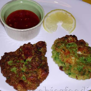 Sophie's Pea, Mint & Haloumi Patties