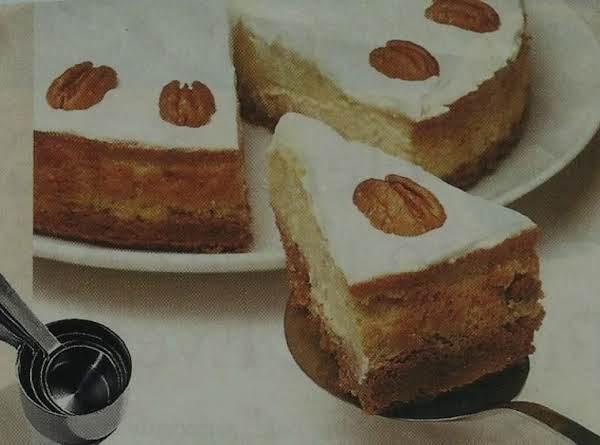 The Creamiest Cheesecake Ever.