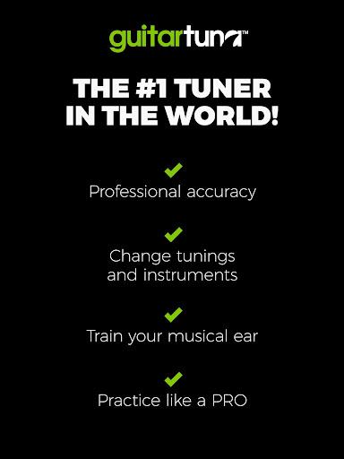 Guitar Tuner Free - GuitarTuna 4.6.5 screenshots 15