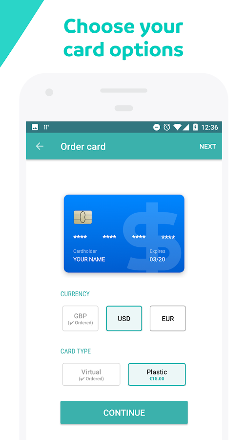 Wirex. Bitcoin Wallet & Card- screenshot