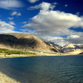 A Perfect Shore! by Abhishek Majumdar - Landscapes Mountains & Hills
