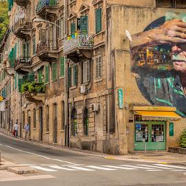 by Eseker RI - City,  Street & Park  Neighborhoods (  )