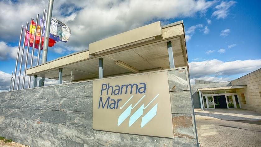 Entrada a la sede de PharmaMar.