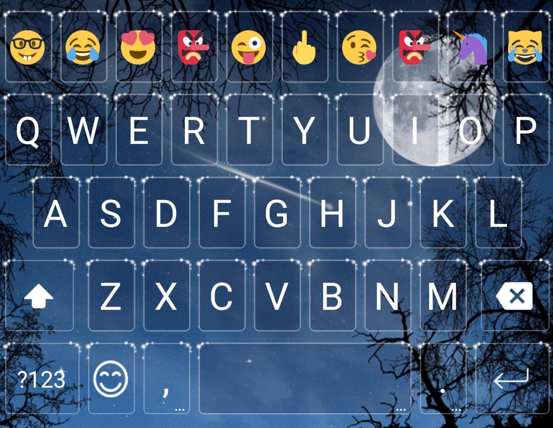Moonlight emoji keyboard theme android apps on google play moonlight emoji keyboard theme screenshot biocorpaavc