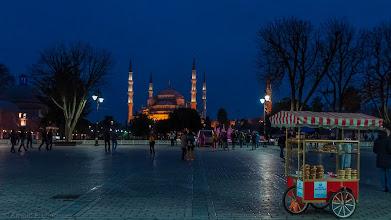 Photo: Blick zur Sultan-Ahmed-Camii