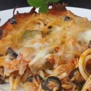 Timballo Spaghetti Casserole.