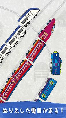 動く!ぬりえワールド - 電車やあおむしが動くお絵かきアプリのおすすめ画像3