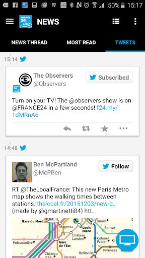 FRANCE 24 3.8.5 screenshots 8