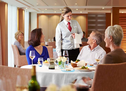 Viking-Longship-Restaurant.jpg - Dine on regional specialties and contemporary cuisine in the casual yet elegant Restaurant aboard your Viking Longship.