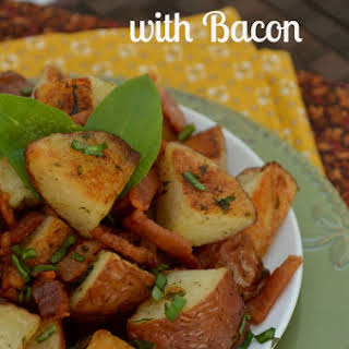 Redskin Potatoes with Bacon.