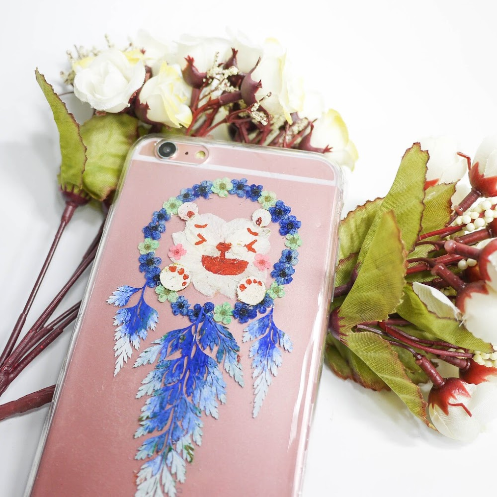 [訂製/custom-made] Pressed Flower Phone Case