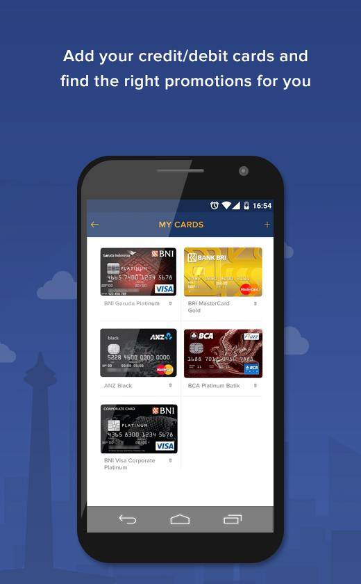Kartoo - Credit & Debit Promos- screenshot
