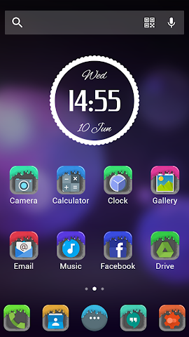 android Jelly - Solo Theme Screenshot 1