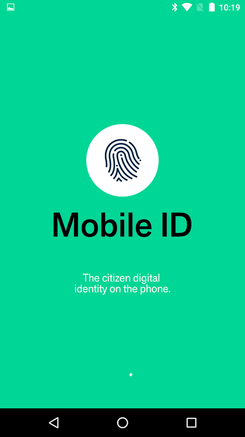 Mobile ID – Mobile Identity- screenshot