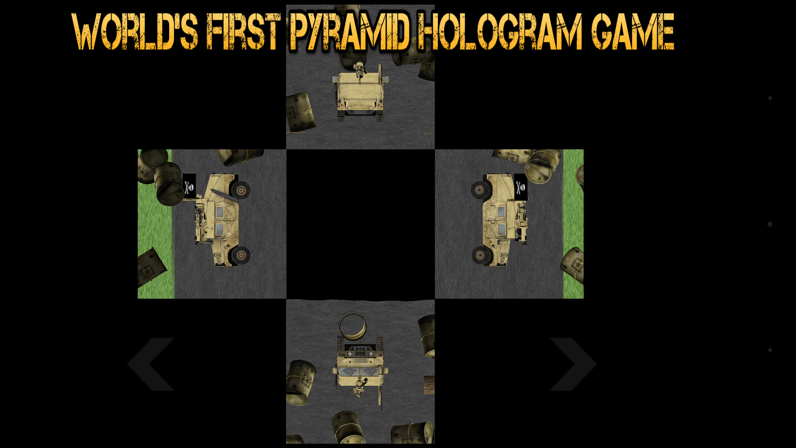 Holo Hummer Game- screenshot