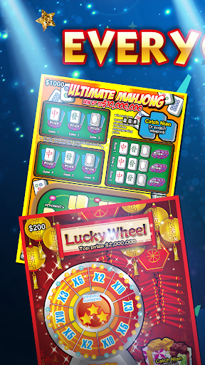 Lottery Scratch Off - Mahjong