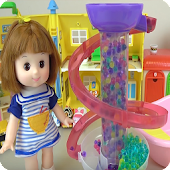 Baby Doll Orbeez Bath Play