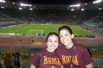 Photo: After the game, Katie and Teresa are happy we didn't get killed