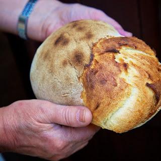 Ikarian-Style Sourdough Bread.