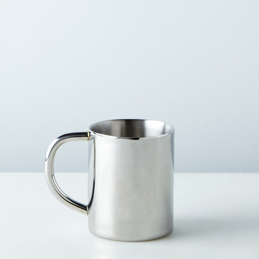 Double-Walled Stainless Steel Mug
