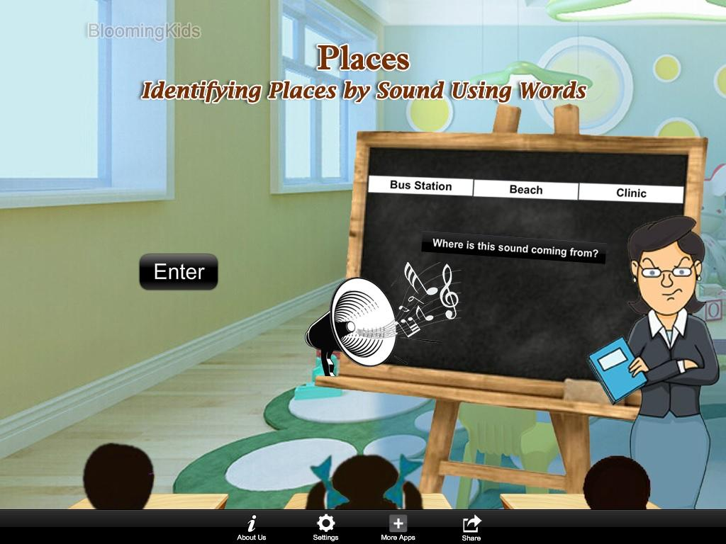Iden Places by Snd U Wrds Lite- screenshot